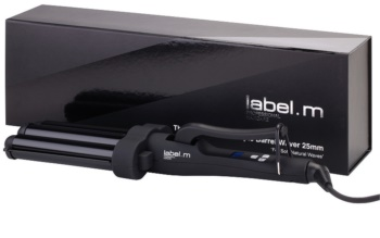 label.m Electrical The Advanced Pro Triple Barrel Waver 25 mm Triple Barrel Curling Iron