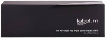 label.m Electrical The Advanced Pro Triple Barrel Waver 25 mm ondulator cu triplu efect