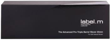 label.m Electrical The Advanced Pro Triple Barrel Waver 25 mm Triple Barrel Waver Lockenstab