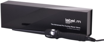 label.m Electrical The Advanced Pro Curling Wand 19 mm Curling Iron
