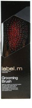 label.m Brush Grooming escova de cabelo