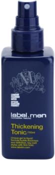 label.m Men vlasové tonikum pre hustotu vlasov