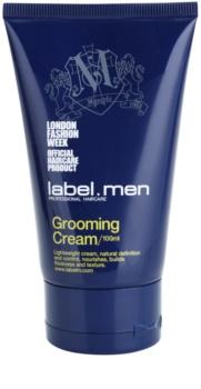 label.m Men ošetrujúci krém na vlasy