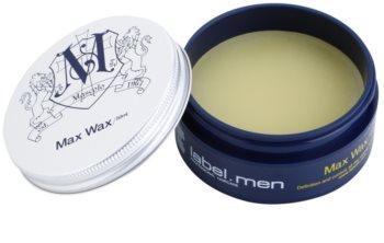 label.m Men vosk na vlasy