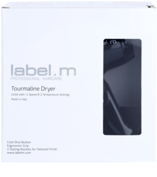 label.m Tourmaline Dryer fén na vlasy