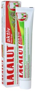 Lacalut Aktiv Herbal fogkrém a fogak és az íny erősítésére