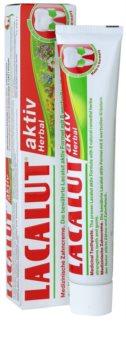 Lacalut Aktiv Herbal pasta pro posílení zubů a dásní