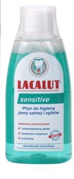 Lacalut Sensitive elixir bocal para dentes sensíveis