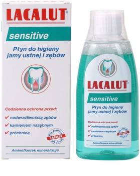 Lacalut Sensitive apa de gura pentru dinti sensibili