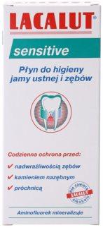 Lacalut Sensitive płyn do płukania jamy ustnej dla wrażliwych zębów