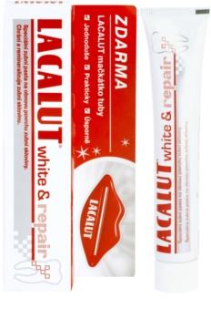Lacalut White & Repair pasta de dientes reminelizante + exprimidor de tubo