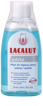 Lacalut White Mundwasser mit bleichender Wirkung
