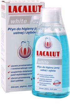Lacalut White vodica za usta s izbjeljivajućim učinkom