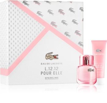 Lacoste Eau de Lacoste L.12.12 Pour Elle Sparkling set cadou III.
