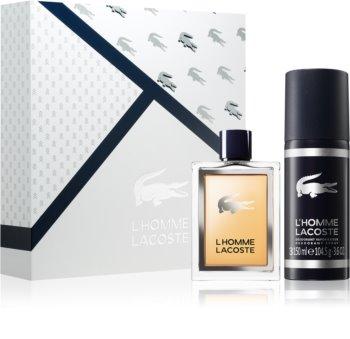 Lacoste L'Homme Lacoste dárková sada