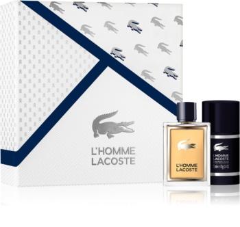 Lacoste L'Homme Lacoste darčeková sada III. pre mužov