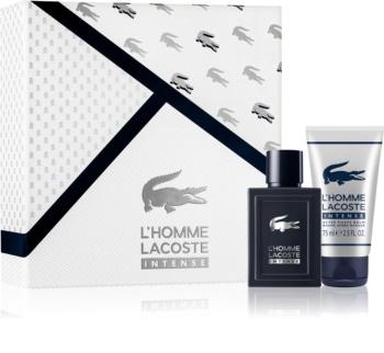 Lacoste L'Homme Lacoste Intense darčeková sada I. pre mužov