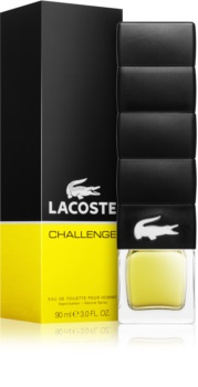 Lacoste Challenge Eau de Toilette for Men 90 ml