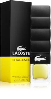 Lacoste Challenge Eau de Toilette para homens 90 ml
