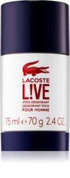 Lacoste Live dédorant stick pour homme 75 ml