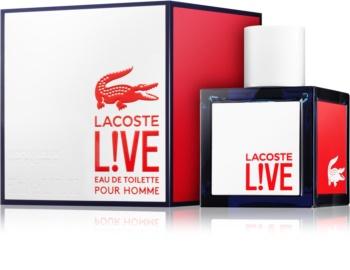 Lacoste Live Eau de Toilette for Men 60 ml
