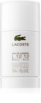 Lacoste Eau de Lacoste L.12.12 Blanc deo-stik za moške 75 ml