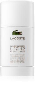 Lacoste Eau de Lacoste L.12.12 Blanc deostick pro muže 75 ml