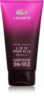 Lacoste Eau de L.12.12 Pour Elle Magnetic sprchový gel pro ženy 150 ml