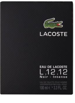 Lacoste Eau de Lacoste L.12.12 Noir Eau de Toilette für Herren 100 ml