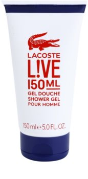 Lacoste Live Shower Gel for Men 150 ml