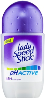 Lady Speed Stick PH Active roll-on antibacteriano 48 h
