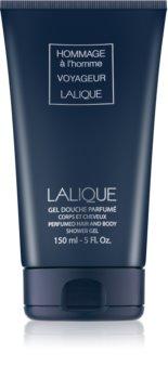 Lalique Hommage À L'Homme Voyageur Shower Gel for Men 150 ml