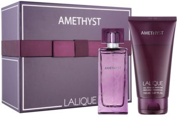 Lalique Amethyst set cadou V.