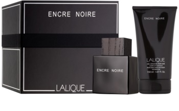 Lalique Encre Noire for Men set cadou