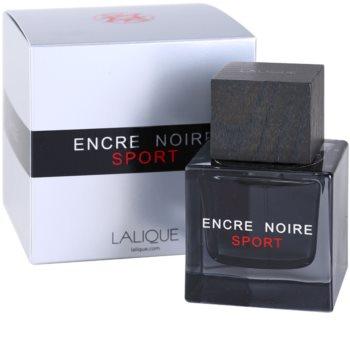Lalique Encre Noire Sport Eau de Toilette Herren 100 ml