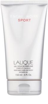 Lalique Encre Noire Sport gel doccia per uomo 150 ml