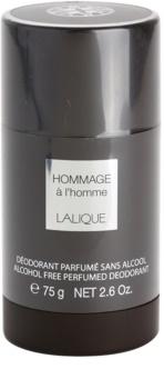 Lalique Hommage À L'Homme dezodorant w sztyfcie dla mężczyzn 75 ml
