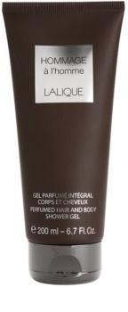 Lalique Hommage À L'Homme gel douche pour homme 200 ml