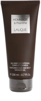 Lalique Hommage À L'Homme sprchový gel pro muže 200 ml