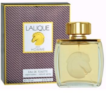 Lalique Pour Homme Equus Eau de Toilette for Men 75 ml