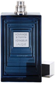 Lalique Hommage À L'Homme Voyageur toaletní voda tester pro muže 100 ml
