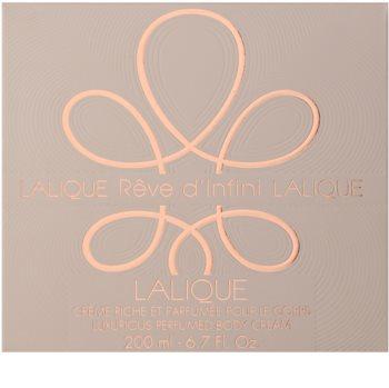 Lalique Rêve d'Infini crème corps pour femme 200 ml