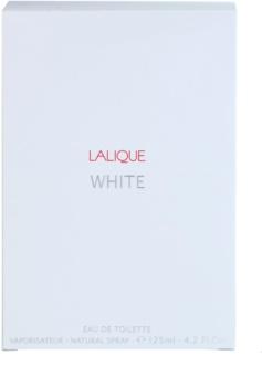 Lalique White Eau de Toilette para homens 125 ml