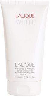 Lalique White gel za prhanje za moške 150 ml