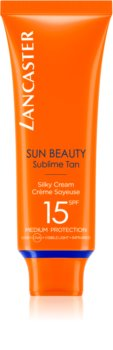 Lancaster Sun Beauty crema abbronzante viso SPF 15