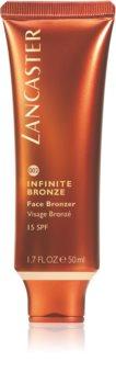 Lancaster Infinite Bronze bronzujúci gél na tvár SPF 15