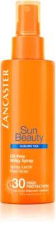 Lancaster Sun Beauty обезжирене молочко для засмаги у формі спрею SPF 30