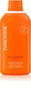 Lancaster Tan Maximizer nyugtató hidratáló krém a napbarnítottság meghosszabbítására