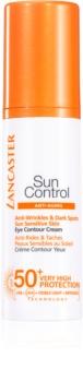 Lancaster Sun Control opaľovací krém na očné okolie SPF50+