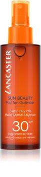 Lancaster Sun Beauty suchý olej na opaľovanie v spreji SPF 30